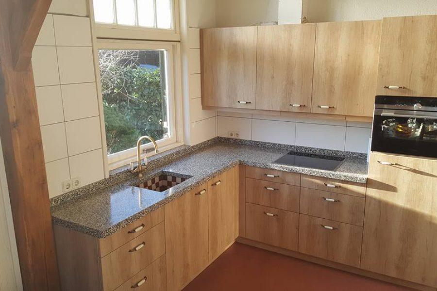 Verbouw keuken Hengevelde